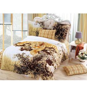"""""""Тигр"""" - комплект постельного белья из сатина с 4 наволочками"""