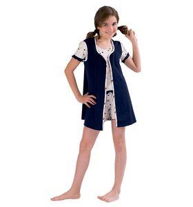 """Комплект подростковый """"Ночь"""" (пижама+шорты+накидка)"""