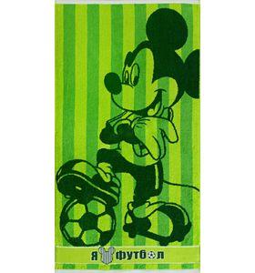 "Детское полотенце ""Mickey and Football"""