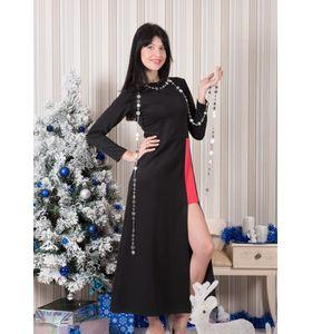 """Платье женское """"Орнелла"""" с глубоким разрезом"""