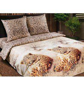 """Комплект постельного белья """"Леопарды"""" из поплина"""