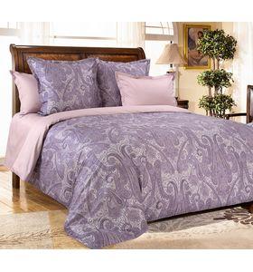 """Комплект постельного белья """"Кашмир 3 фиолетовый"""" из сатина"""
