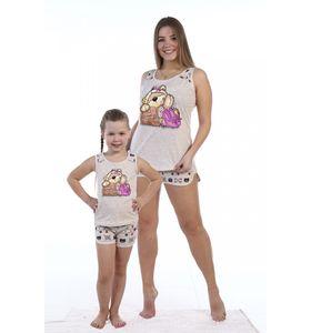 """Пижама женская """"Забава"""" майка и шорты"""