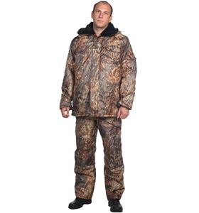 """Костюм мужской """"Рыбак"""" утепленный без капюшона на молнии с длинным рукавом штаны комбинезон"""