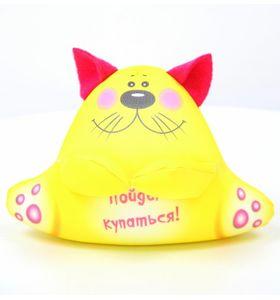 """Антистрессовая подушка-игрушка  с котом2""""Аква крошки"""""""