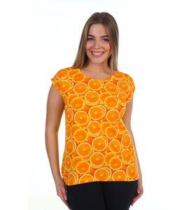 """Футболка женская """"Orange"""" с коротким рукавом"""