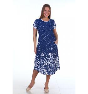 "Платье женское ""Снежана"" с коротким рукавом"