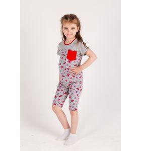 """Пижама детская для девочки """"Злата 2"""" футболка и шорты"""
