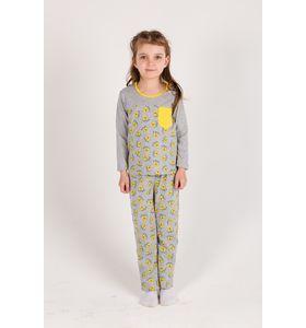 """Пижама детская для девочки """"Злата"""" лонгслив и брюки"""