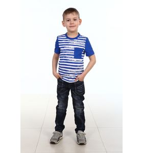 """Футболка детская для мальчика """"Мишка"""" с коротким рукавом"""