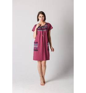"""Платье женское """"Пелагея"""" на завязке спереди"""