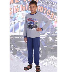 """Пижама детская для мальчика """"Мерседес"""" футболка и брюки"""