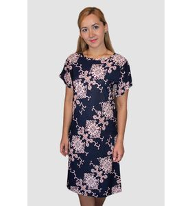 "Платье женское ""Розовое кружево"" с коротким рукавом"