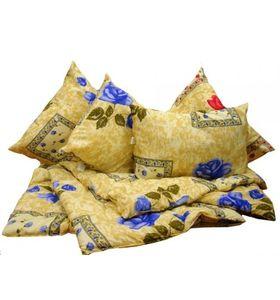 """Набор постельных принадлежностей """"Дачный"""" (одеяло + подушка)"""