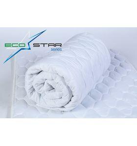"Одеяло ""EcoStar"" лебяжий пух-амикор 70% на 30% 300 гр/м в полиэстере"