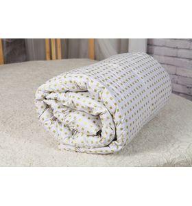 """Одеяло """"ТЧ"""" пуховое (100% гусиный пух) в тике"""