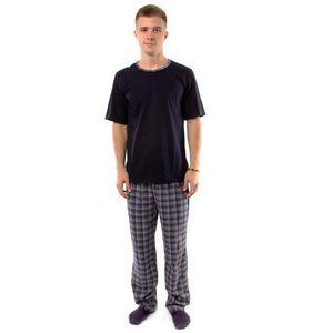 """Мужская пижама """"Августин"""" футболка и брюки"""
