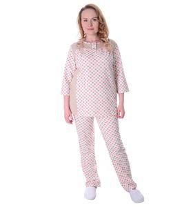 """Пижама женская """"Горошек"""" туника и брюки"""