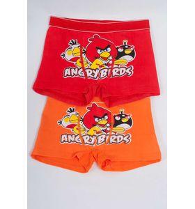 """Трусы детские для мальчика """"Angry Birds"""" боксёры в упаковке, 2 шт."""