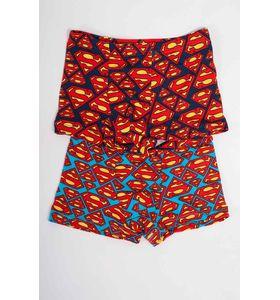 """Трусы детские для мальчика """"Супермен"""" боксёры в упаковке, 2 шт."""