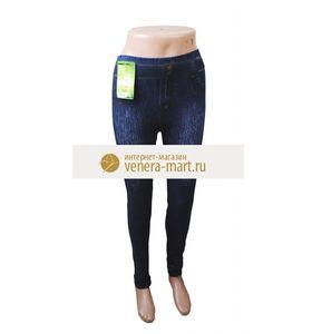 "Легинсы женские ""Башня"" имитирующие джинсы"