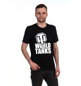 """Футболка мужская """"Мир танков"""" с коротким рукавом"""