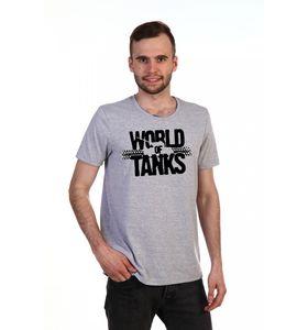 "Футболка мужская ""Танки"" с коротким рукавом"