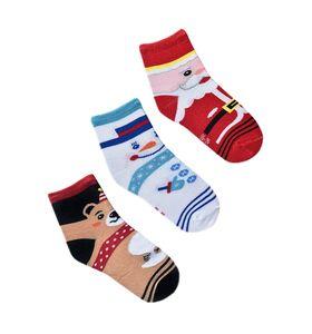 """Набор детских носков """"Праздник"""" в упаковке, 3 пары"""