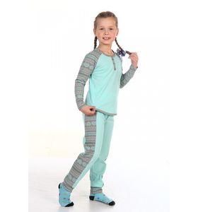 """Пижама детская """"Кира"""" лонгслив и брюки"""