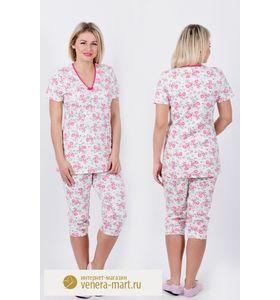 "Пижама женская ""Стейси"" футболка и бриджи"