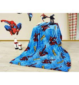 """Плед из велсофта """"Человек паук"""" с детским рисунком"""