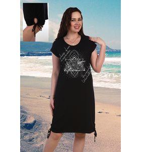 """Платье женское """"Медитация"""" с коротким рукавом"""