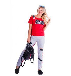 "Костюм женский ""Traveler"" футболка и брюки"