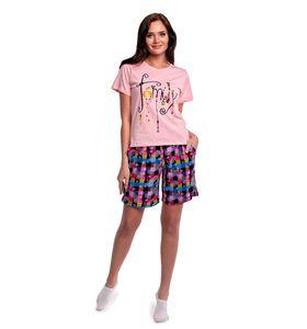"Комплект женский ""Family"" футболка и шорты"