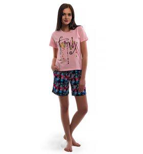"Комплект женский ""Варенька"" футболка и шорты"