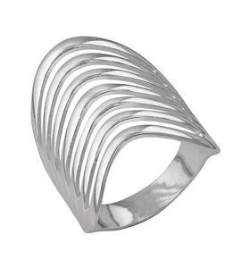 """Кольцо женское """"Патриция"""" с серебрением"""
