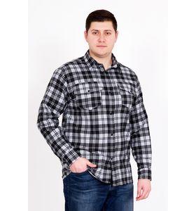 """Рубашка мужская """"Фланель Д/Р"""" с длинным рукавом"""