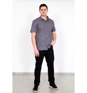 """Рубашка мужская """"Ромио"""" с коротким рукавом"""