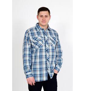 """Рубашка мужская """"Шотландка Д/Р"""" с длинным рукавом"""