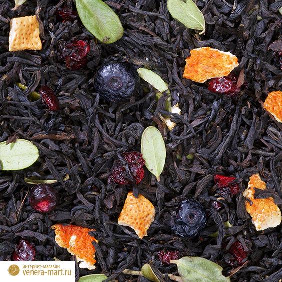 "Чай черный ""Зимняя вишня"""