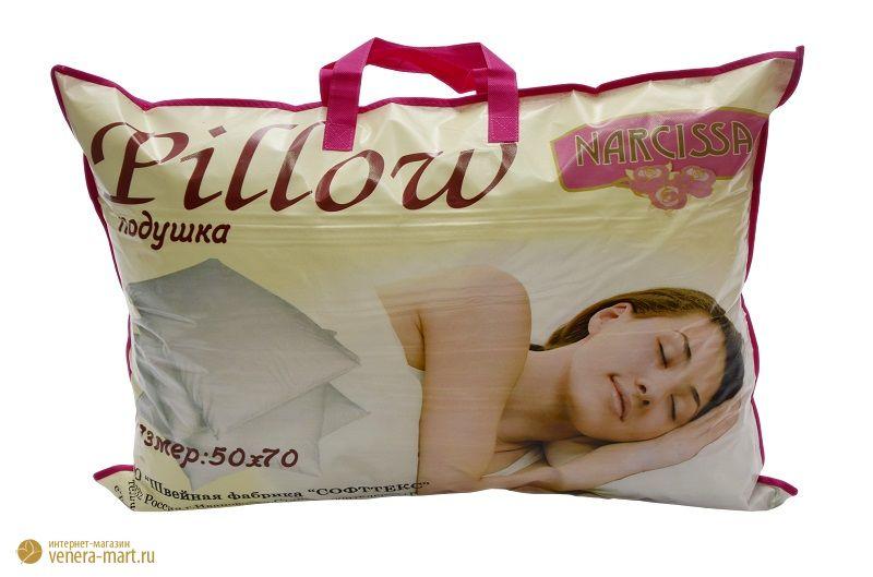 "Подушка Premium Soft ""Стандарт"" Merino Wool (овечья шерсть, на молнии)"