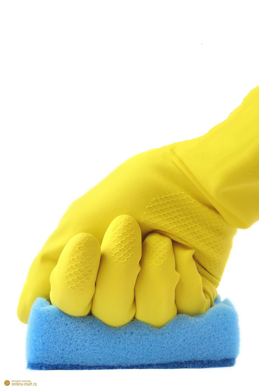 Перчатки хозяйственные из прочного латекса (1 пара)
