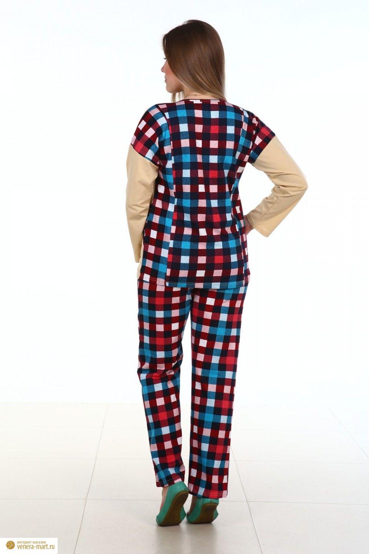 "Костюм женский ""Карелия"" блуза и брюки"