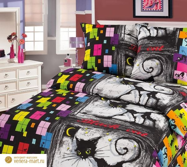 """Комплект постельного белья """"Джокер"""" из бязи"""